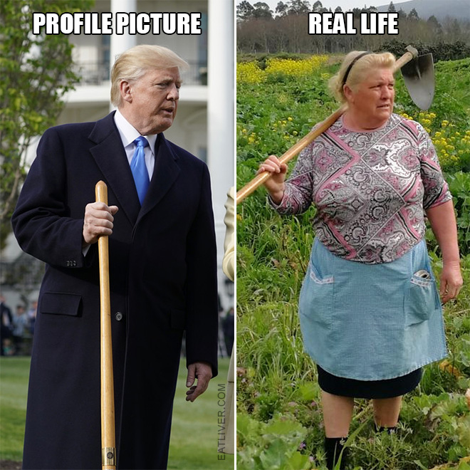 Ever wonder what Trump REALLY looks like?
