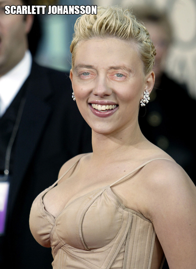 Celebrities look so much better with Steve Buscemi eyes!