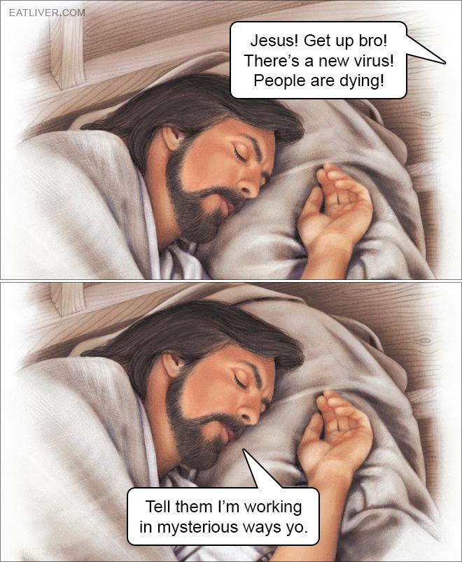Jesus is working in mysterious ways.