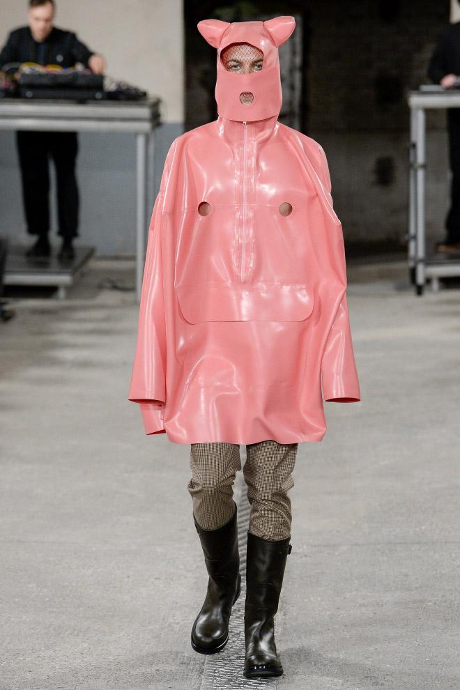 Borderline insane men's fashion by Walter Van Beirendonck.