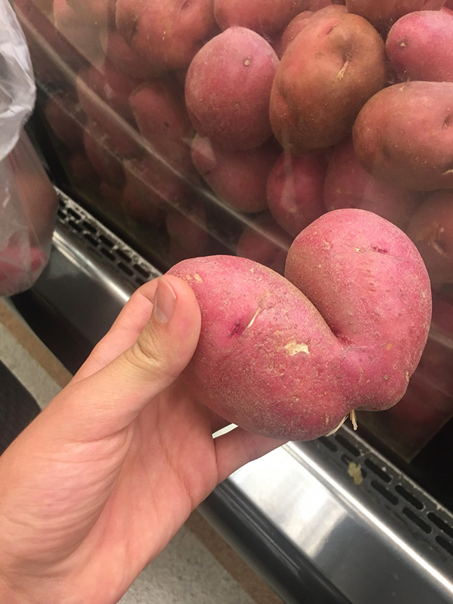 Beautiful potato butt.