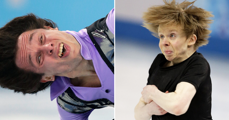 The Funniest Figure Skating Faces