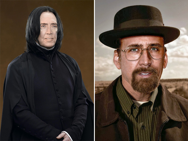 If Nicolas Cage played every role in Hollywood...