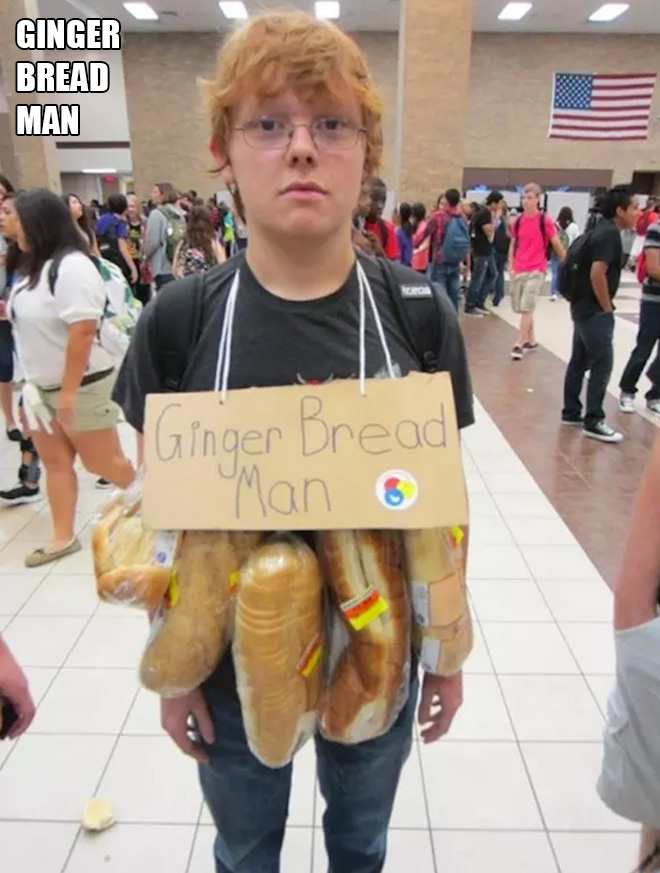 Puntastic Halloween costume idea.