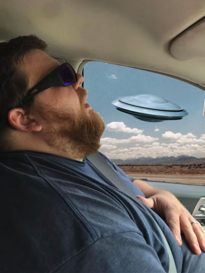 When sleeping husband meets photoshopping...
