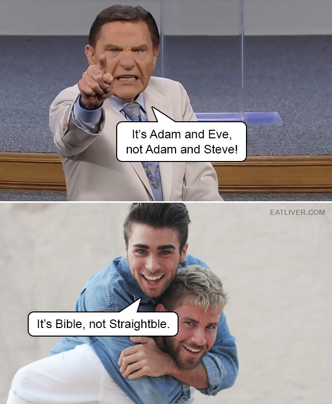 It's Bible, not Straightble!