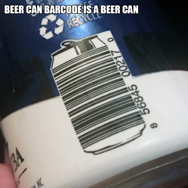 Awesome barcode design.