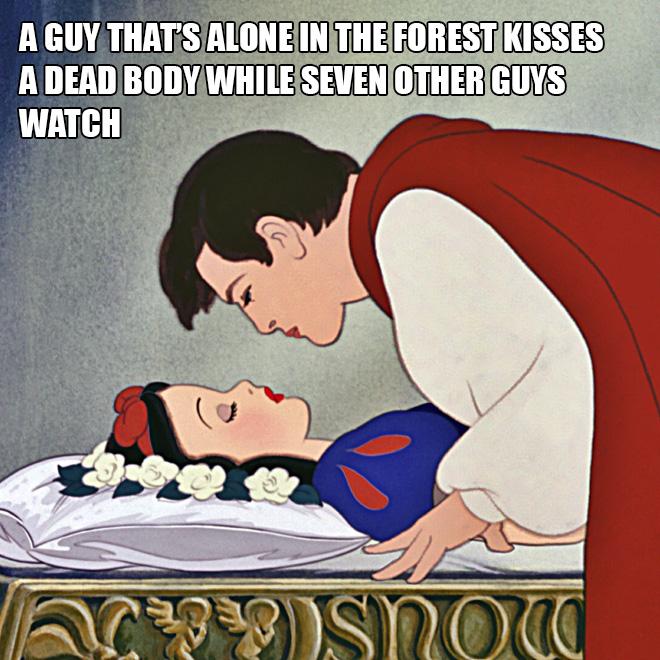 Badly explained film plot.