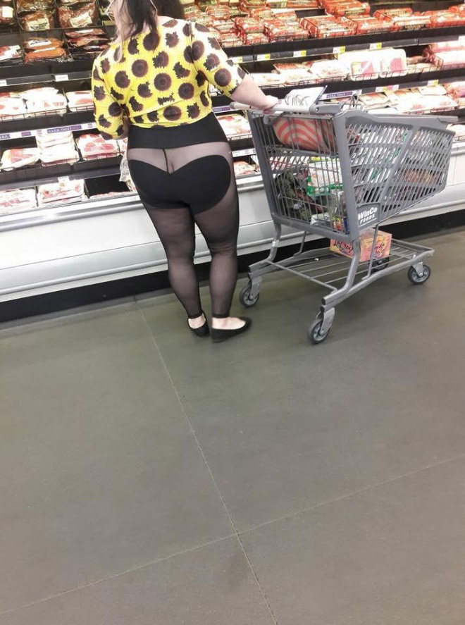 Only in Walmart.