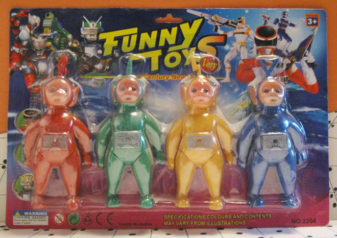 Knock off toys are the best toys!