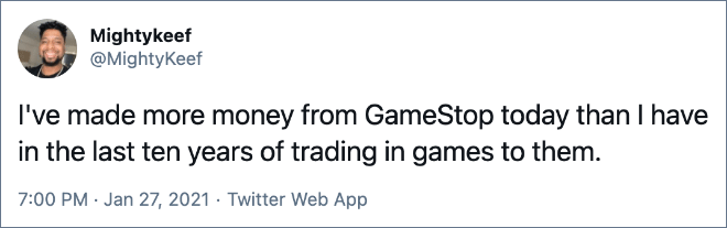 /r/Wallstreetbets vs. GameStop vs. the real Wall Street.
