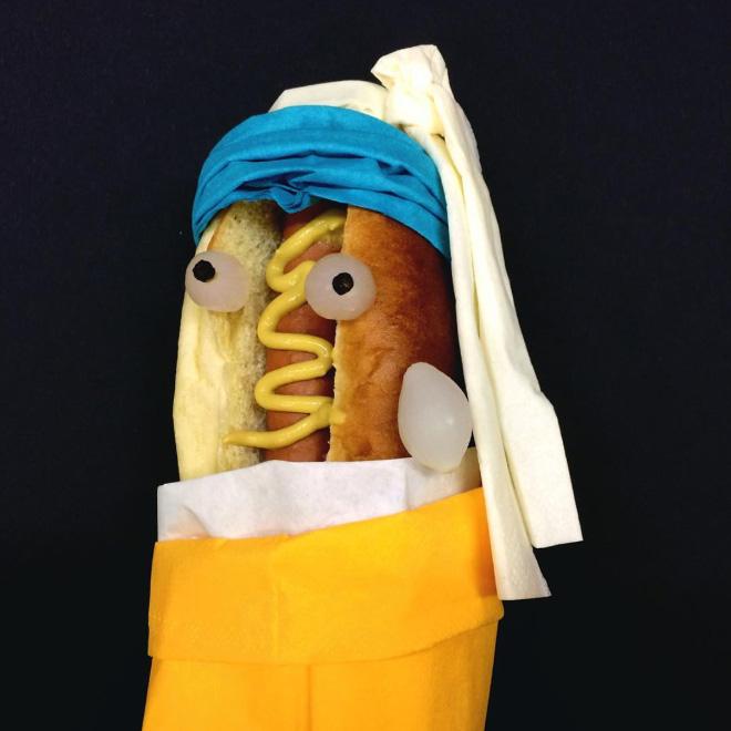 When sausages meet pop culture...