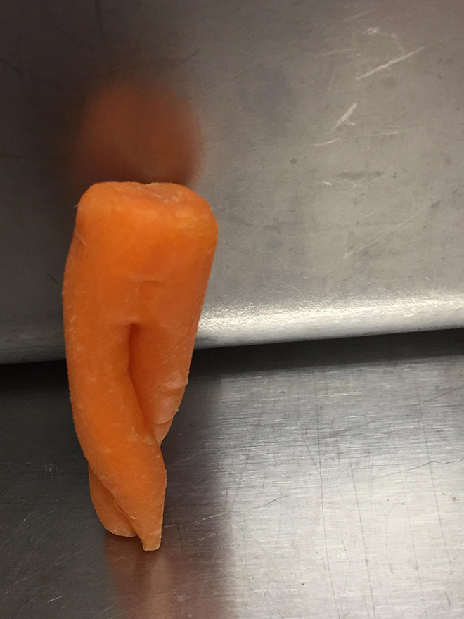 That's one sexy carrot!