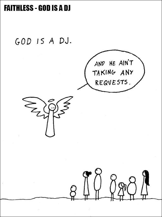 Famous song hilariously illustrated.
