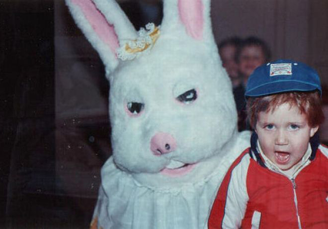 Some Easter Bunnies are really terrifying.