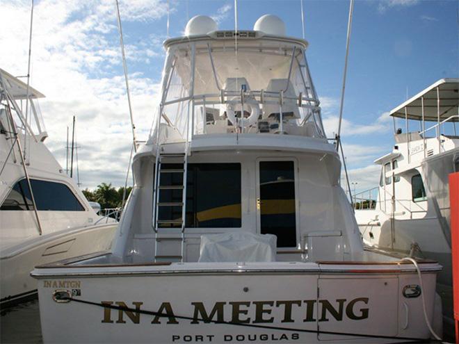 Brilliant boat name.