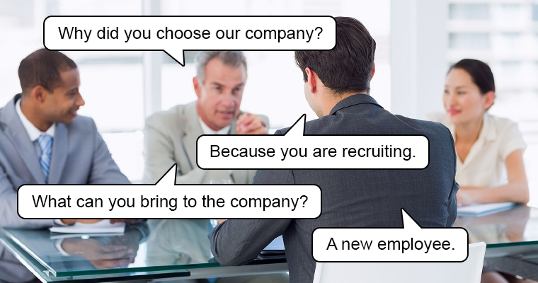 Why Did You Choose Our Company?