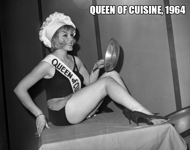 Delicious beauty queen.