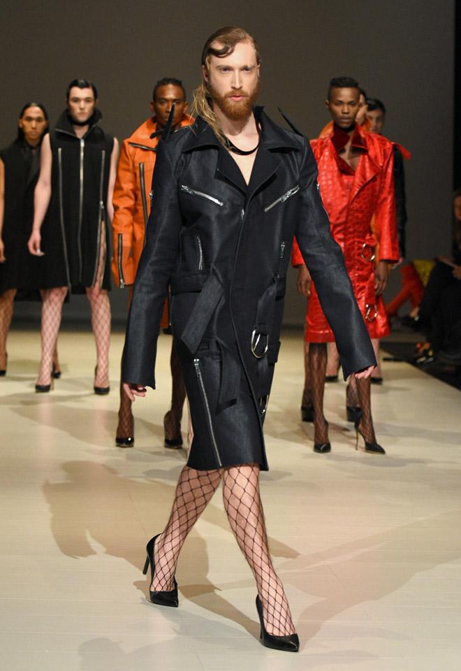 The future of men's fashion.