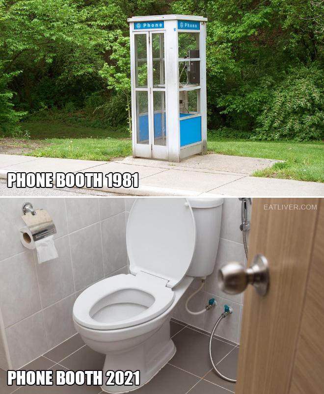 Yet both have always been a bathroom...