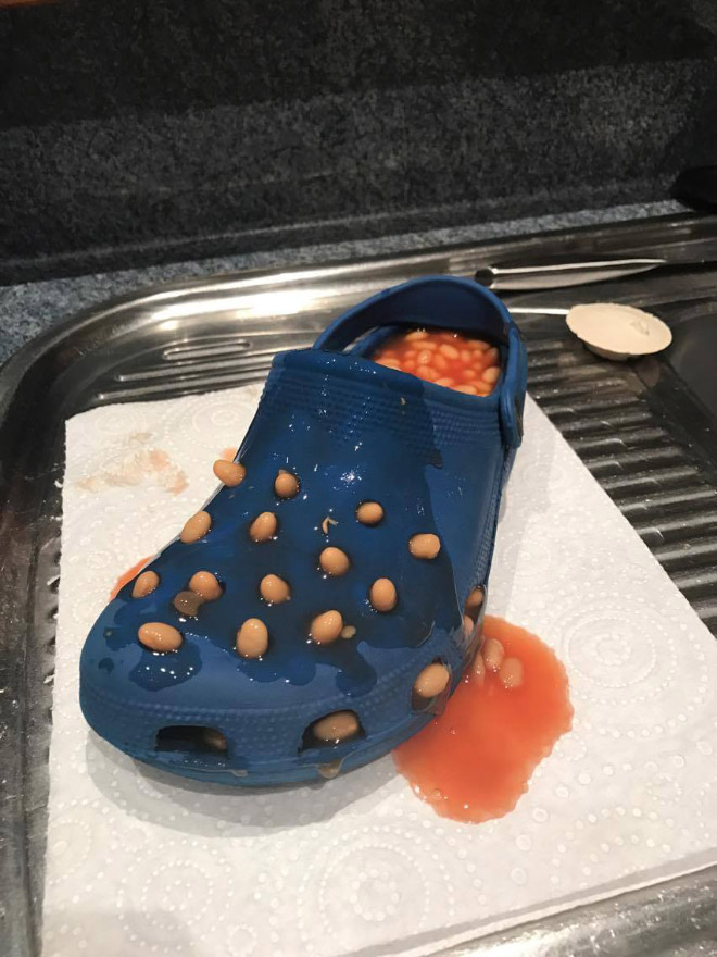 Why is this full of beans? No idea.