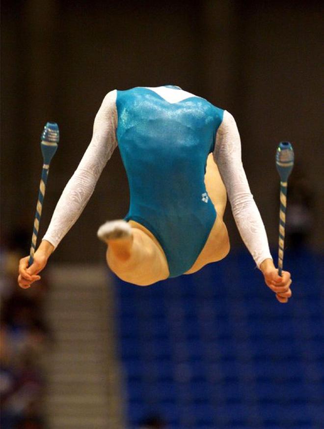 Headless gymnastics.