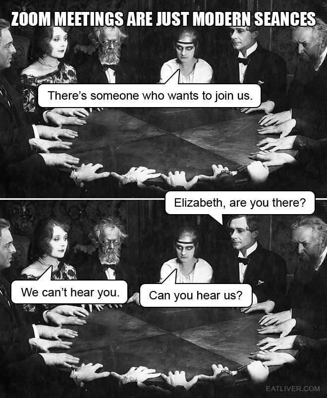 There's someone who wants to join us. Elizabeth, are you there? We can't hear you. Can you hear us?